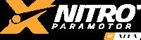 Logo Xnitro laranja fundo escuro