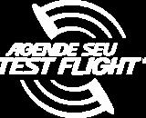 agende test flight branco